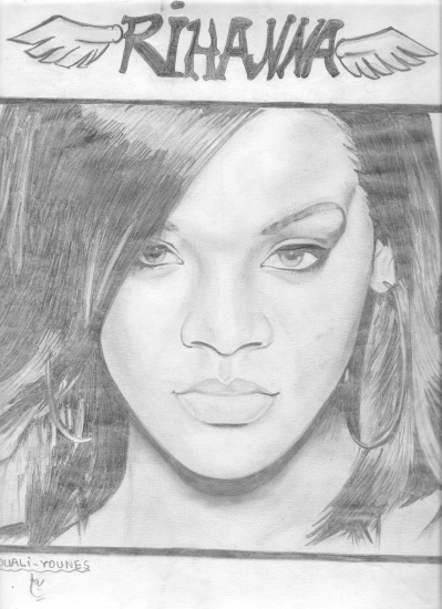 Rihanna por Yanis_dessin